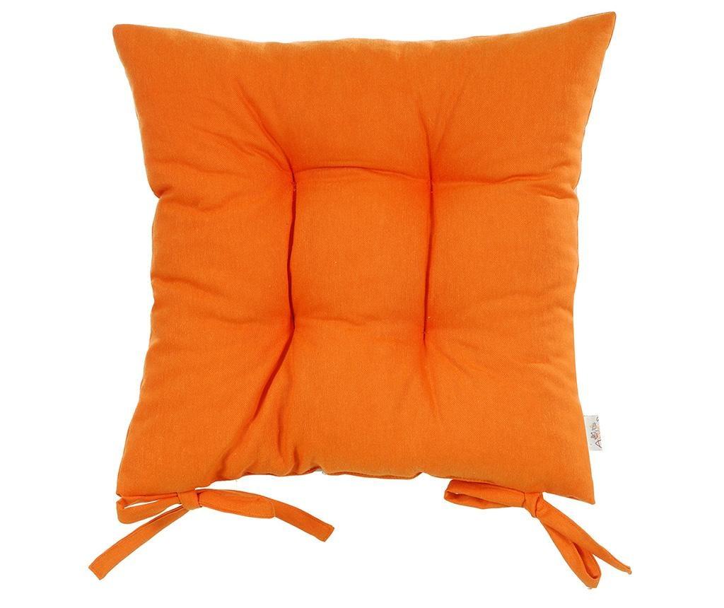 Polštář na sezení Pure Orange 37x37 cm