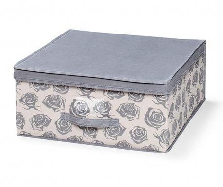 Κουτί με καπάκι για αποθήκευση Roses M
