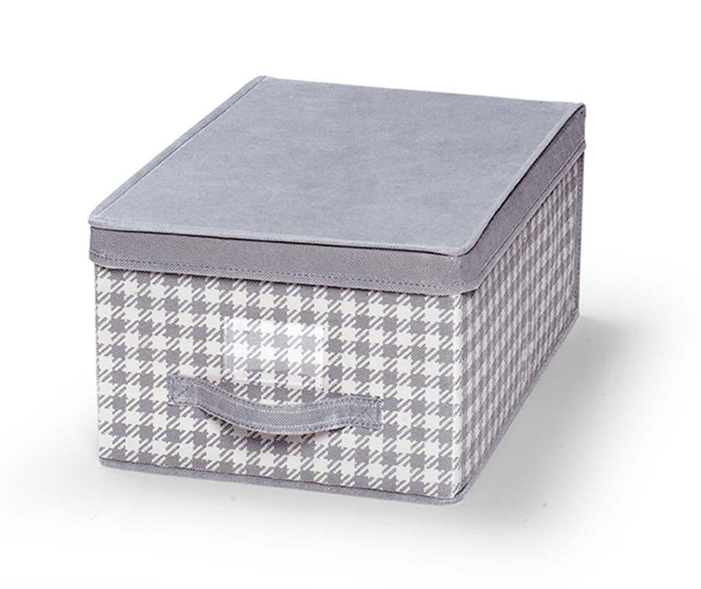 Cutie cu capac pentru depozitare Check S