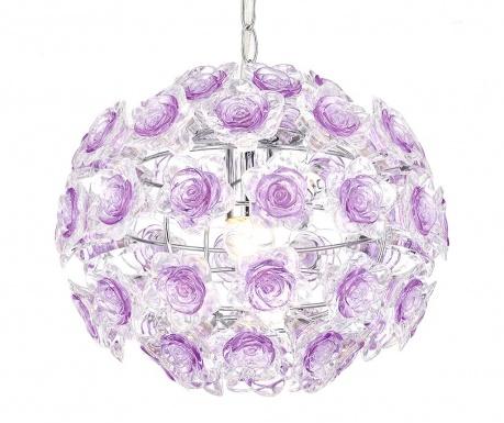 Závěsná lampa Purple Rose