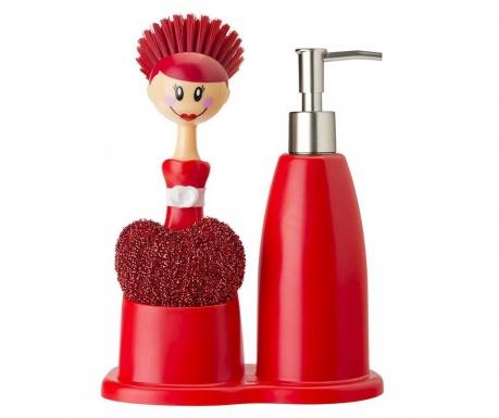 Σετ κουζίνας 3 τεμάχια Doll Red