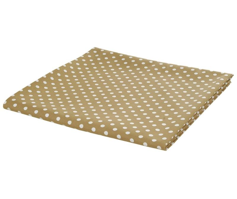 Polka Dots Brown Asztalterítő 140x170 cm