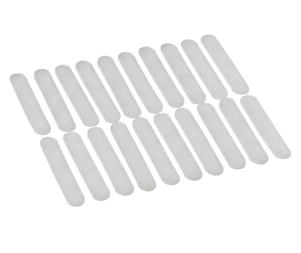 Set 20 protukliznih traka za vješalice Stripe