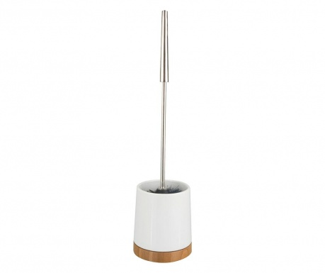 Поставка с четка за тоалетна чиния Emet Bamboo