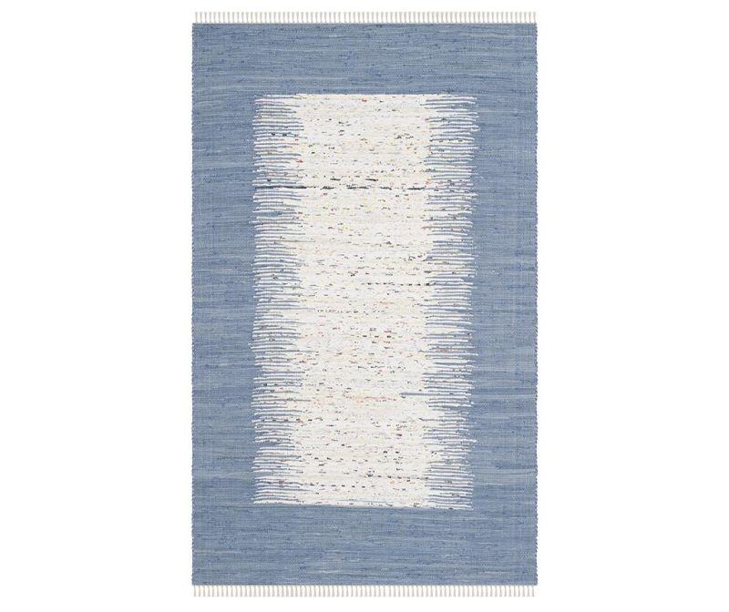 Tepih Saltillo Ivory Dark Blue 152x243 cm