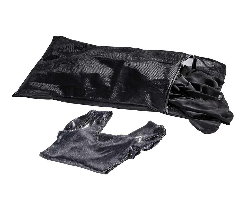 Sáček na praní prádla Simply Black 50x70 cm