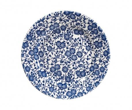 Zestaw 6 talerzy deserowych Victorian Blue & White