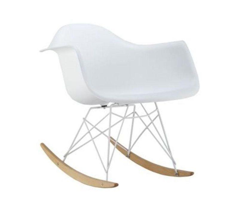 Stolica za ljuljanje Delight White