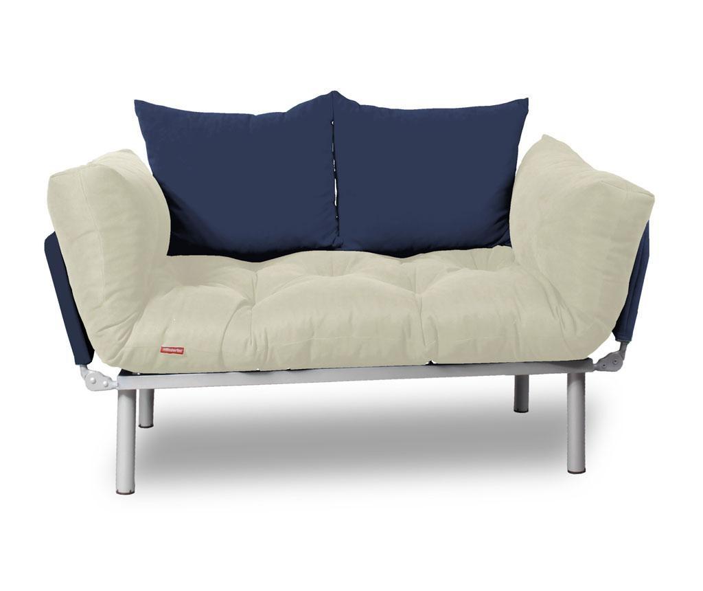 Kauč na razvlačenje Relax Cream Navy