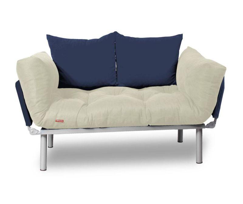 Sofa extensibila Relax Cream Navy