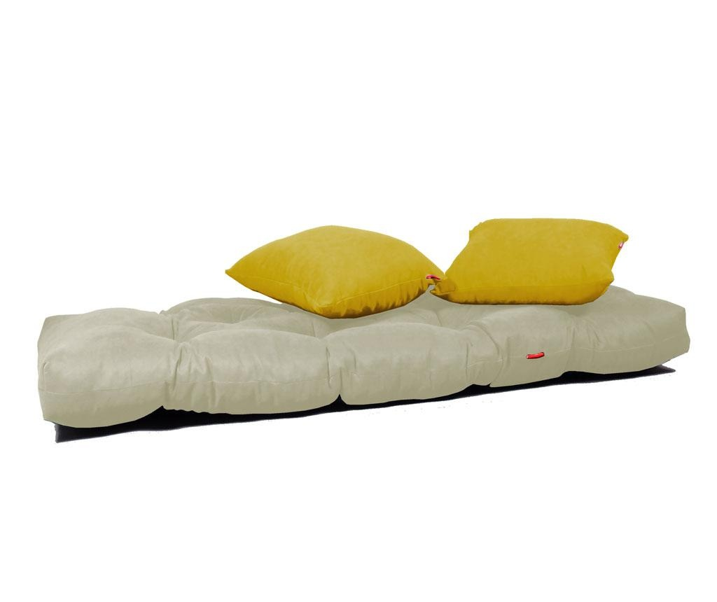 Sofa extensibila Relax Cream Yellow
