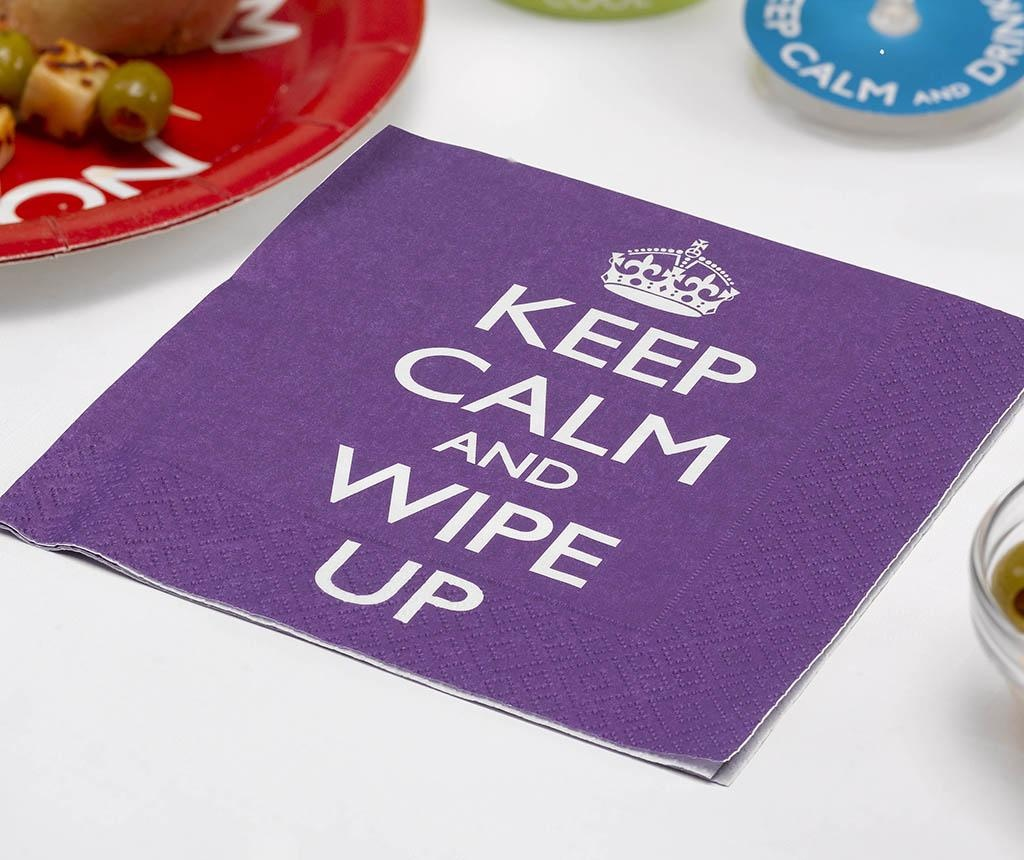 Set 16 serviet Wipe Up