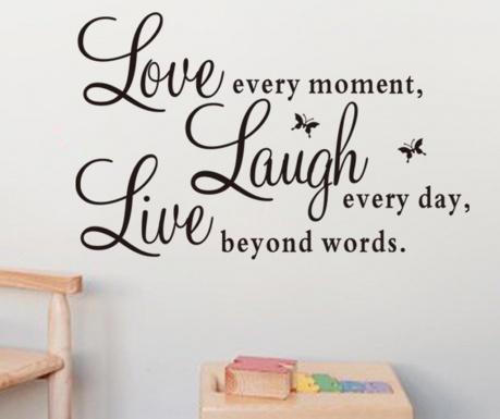 Стикер Love Laugh Live