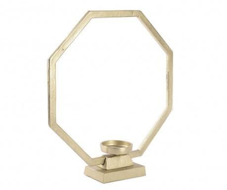 Golden Hexagon Gyertyatartó