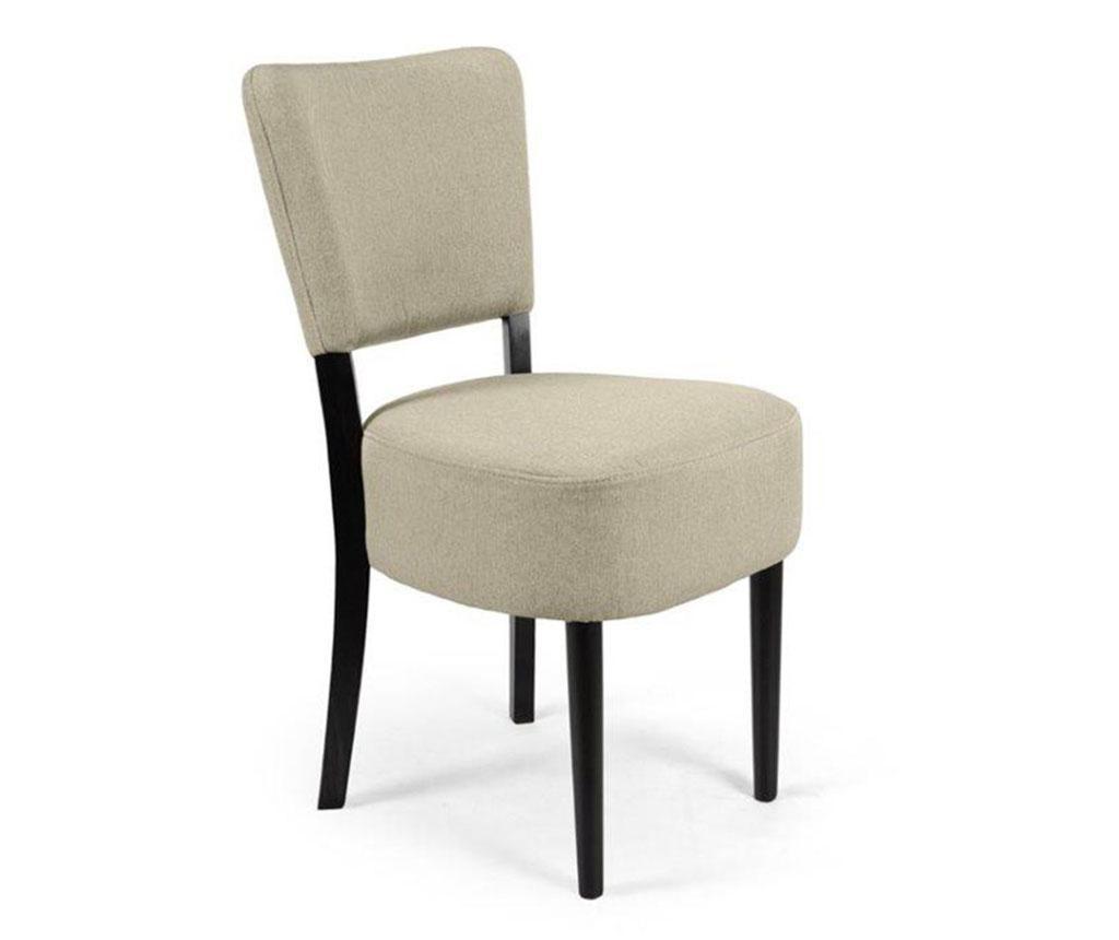 Stol Nisa Light Grey Simple Classic