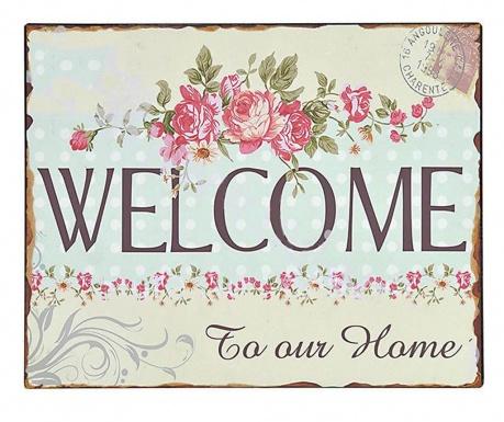 Zidni ukras Welcome