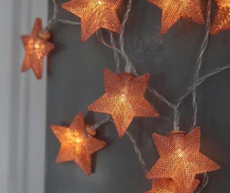 Ghirlanda luminoasa Star Copper