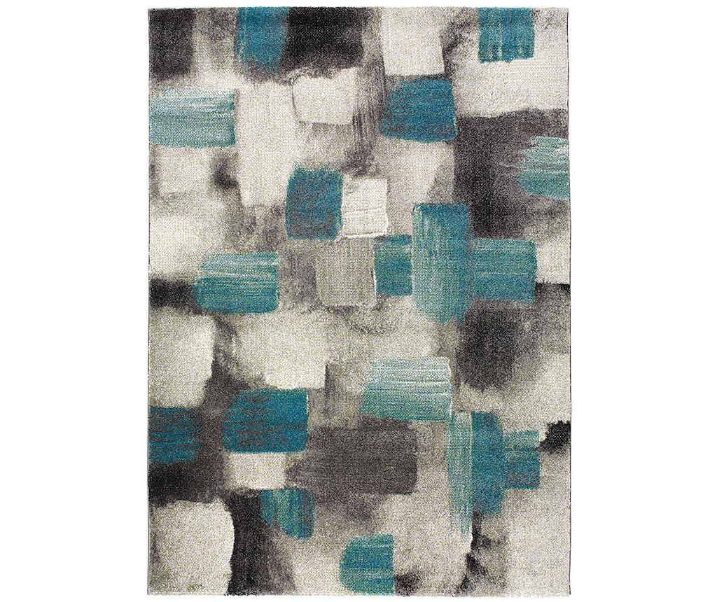 Tepih Squares Blue 160x230 cm