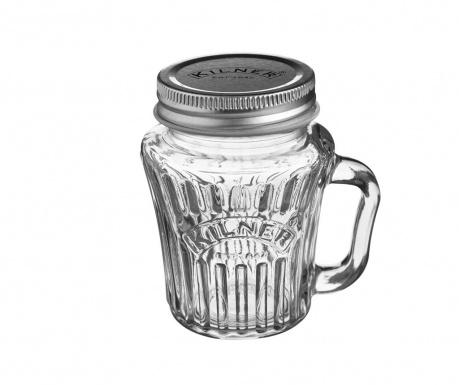 Κούπα με καπάκι Kilner Star 110 ml