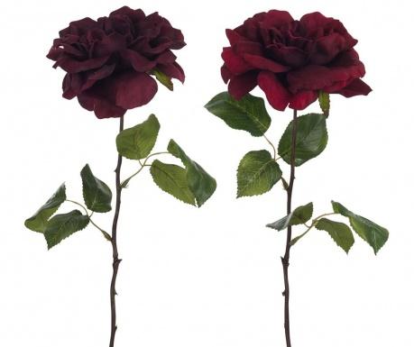 Комплект 2 изкуствени цветя Opened Roses