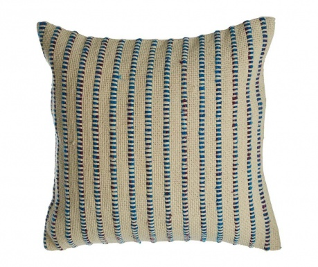 Stripes Blue Díszpárna 45x45 cm