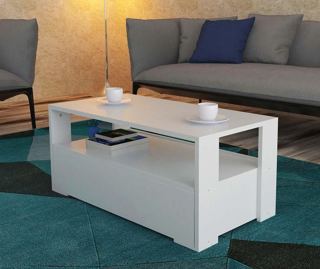 Stolić za kavu Balina White