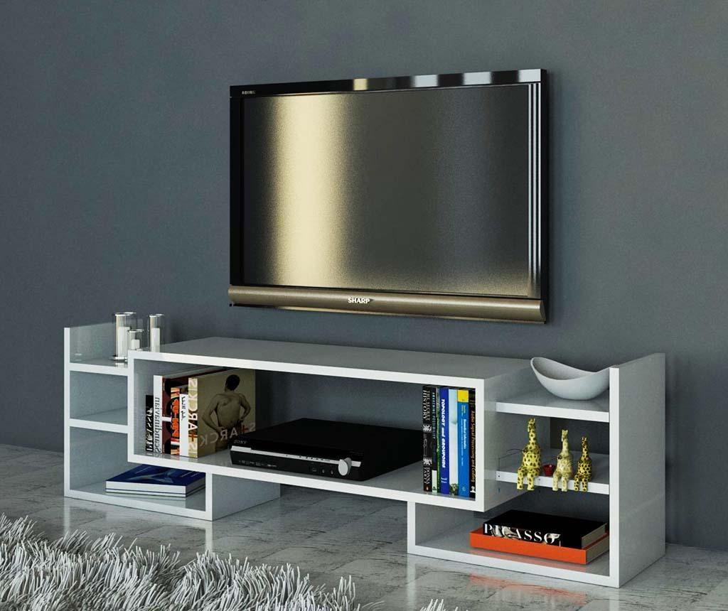 TV komoda Sema White