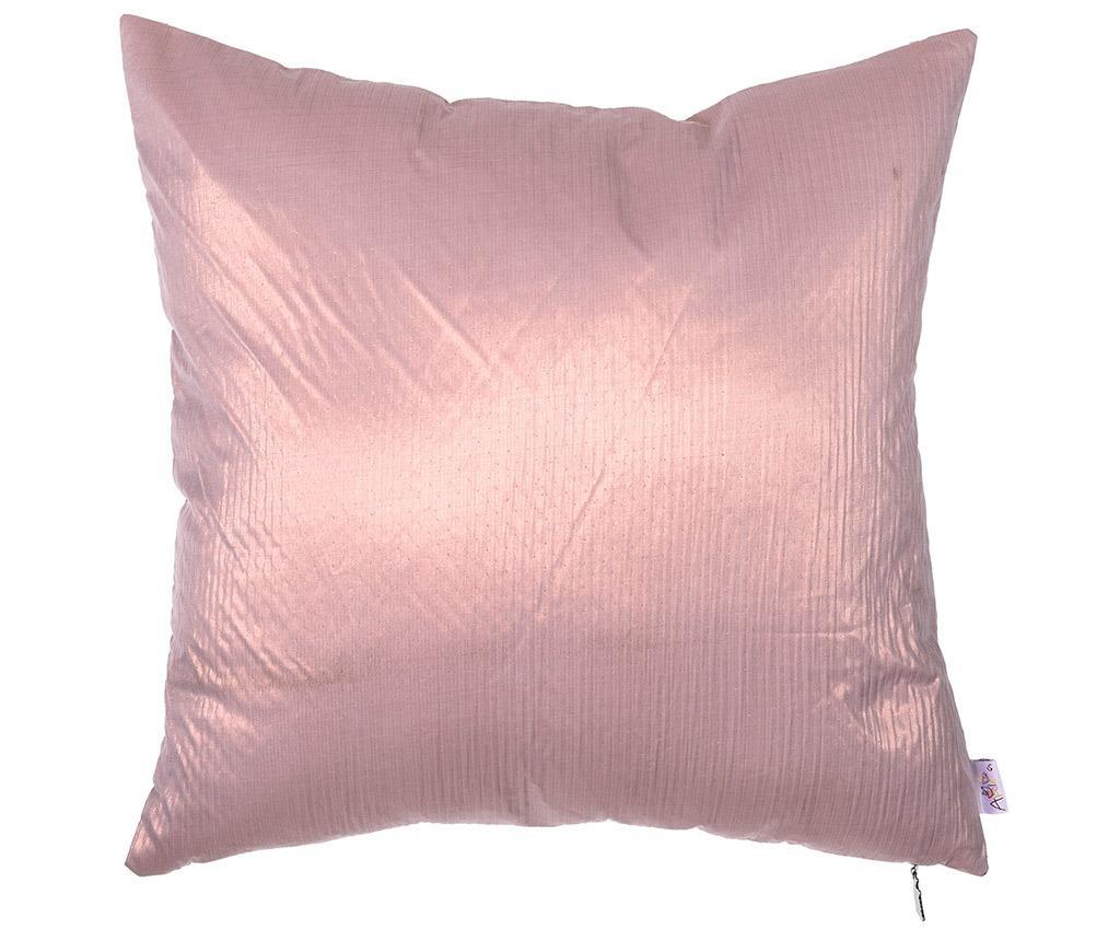Fata de perna Metallic Pink 43x43 cm
