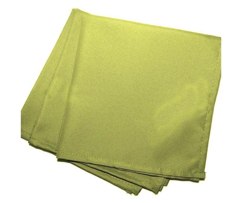 Set 3 stolna ubrusa Essentiel Green 40x40 cm