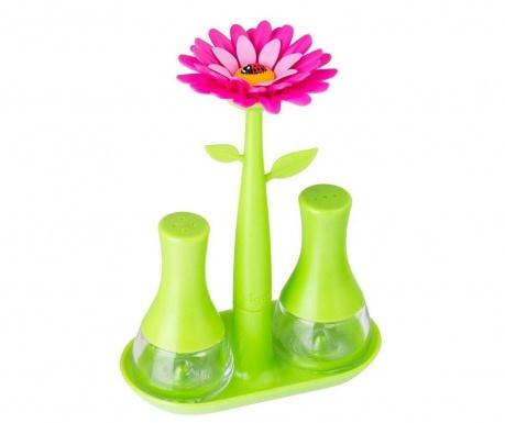 Σετ αλατιέρα πιπεριέρα Flower Power