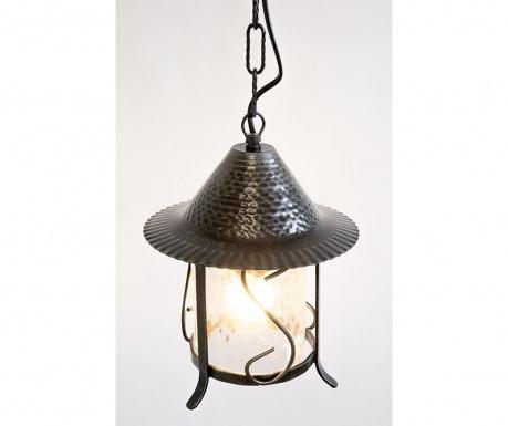 Závesná lampa Trullo Black