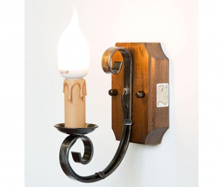 Lampa ścienna Antique Wood One