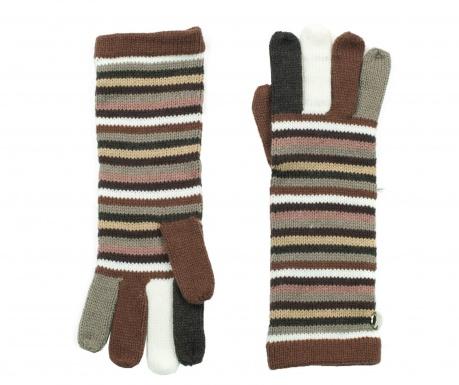 Rękawiczki damskie Stripes
