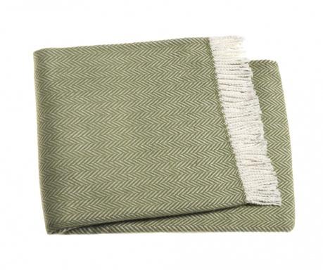 Skyline Olive Green Pléd 140x180 cm