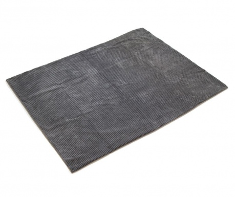 Priročna odeja Corduroy Grey 125x150 cm