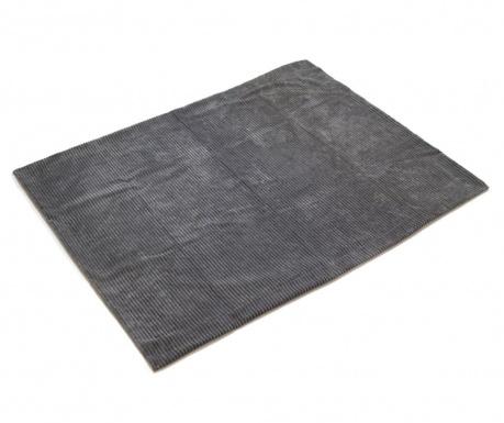 Corduroy Grey Pléd 125x150 cm