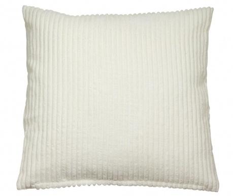 Διακοσμητικό μαξιλάρι Corduroy White 45x45 cm