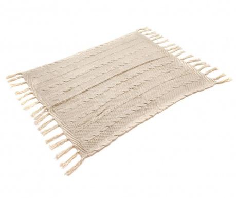 Κουβέρτα Gliss Knitted Beige 125x150 cm