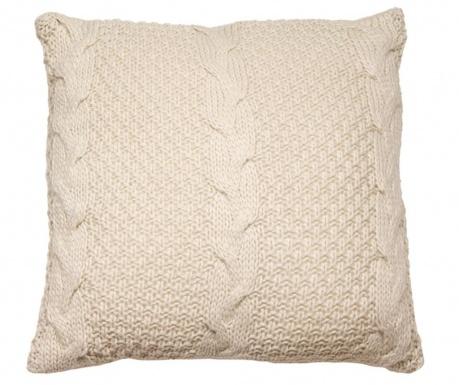 Gliss Knitted Beige Díszpárna 45x45 cm