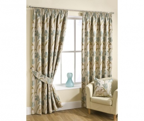 Set 2 draperii Lily Blue