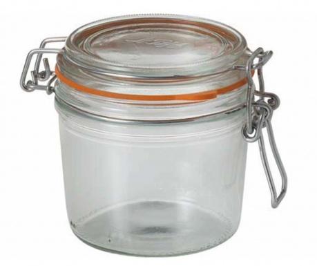 Set 6 steklenk s tesnilnim pokrovom Le Parfait 350 ml