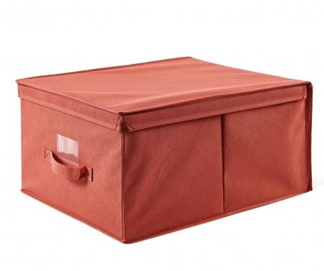 Κουτί με καπάκι για αποθήκευση Verna Red