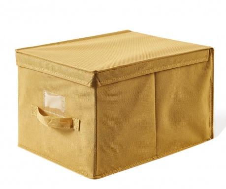Κουτί με καπάκι για αποθήκευση Misha Yellow