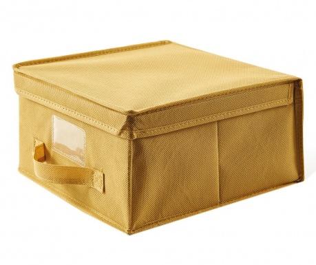 Kutija za spremanje s poklopcem Monik Yellow