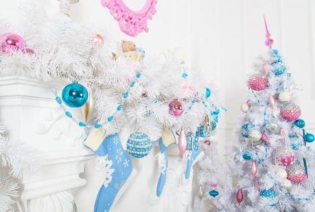 Boże Narodzenie w pastelowych kolorach