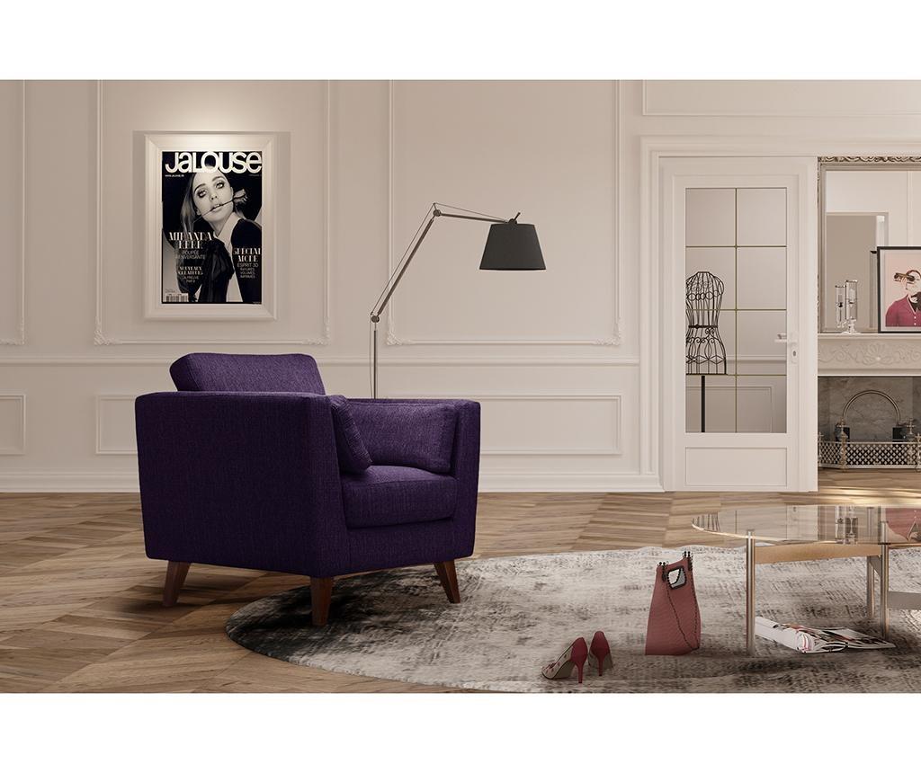 Fotoliu Elisa Purple
