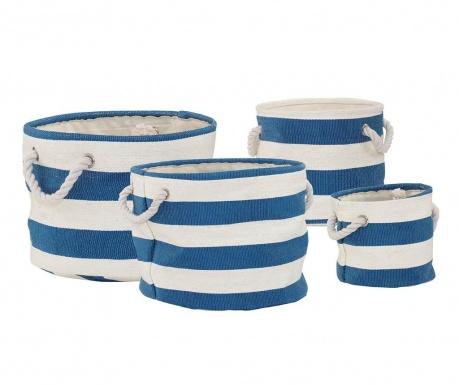 Set 4 cosuri Nautical Blue
