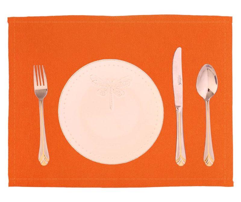 Set 2 individualuri Plane Orange 33x45 cm