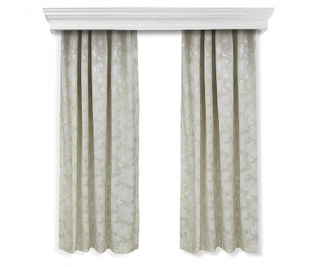 Set 2 zastora Windy Beige 140x260 cm