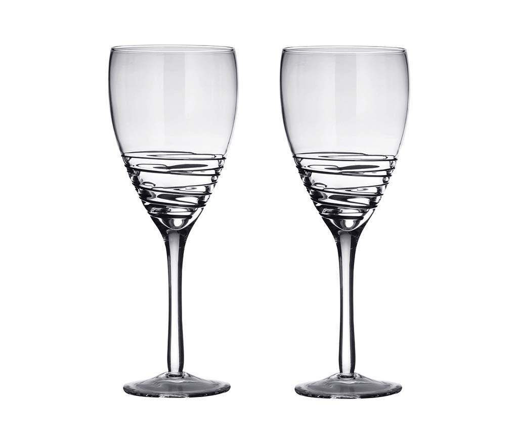 Set 2 kozarcev za vino Stiges 480 ml